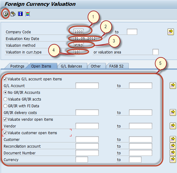 Foreign Currency Revaluation in SAP: Month End Closing