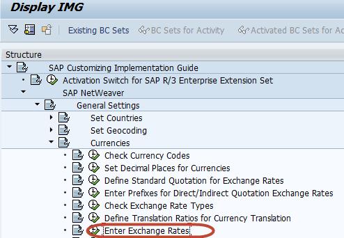 Sap vbrk exchange rate setting  - totisisas gq