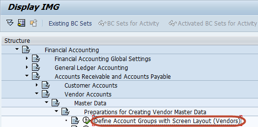 How To Create a Vendor Account Group in SAP FICO
