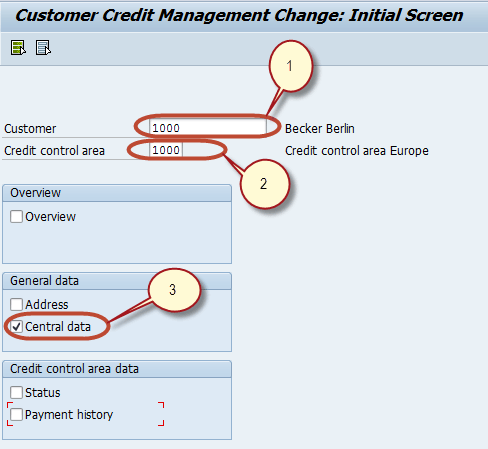 FD32 in SAP: Credit Control Area Tutorial