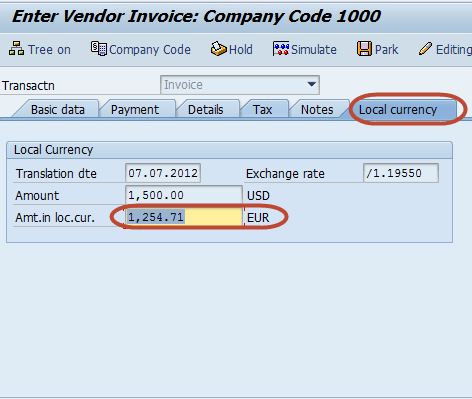 FB60 in SAP: How to post a Purchase Invoice