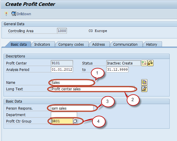 SAP Profit Center Tutorial: Create, Group, Posting & Planning