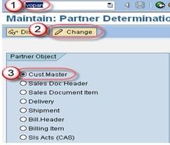 How to Create Partner Function & Partner Determination: SAP