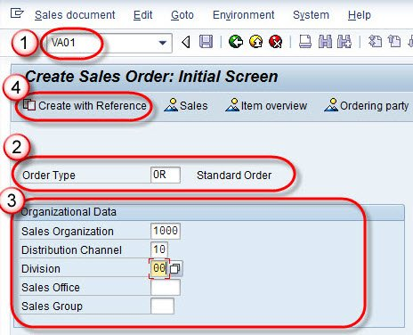 How To Create Sales Order: SAP VA01