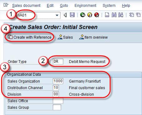 How To Create Debit Memo in SAP – Debit Memo Sample