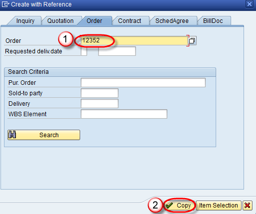 how to create sales order using va01 in sap
