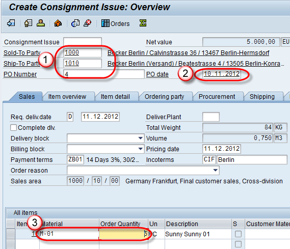 All About Consignment Process in SAP SD