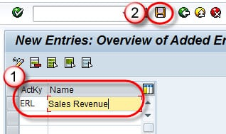 How to create Accounting Key in SAP: OV34