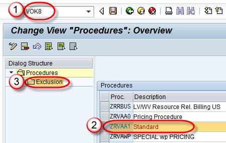Condition Exclusion Group in SAP using Tcode OV31