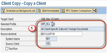 SAP Client Copy: Local, Remote, Import/Export