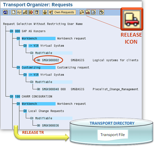 sap transport
