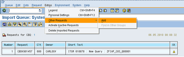 What is SAP Transport Request? How to Import/Export TR