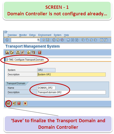 How to configure TMS (Transport Management System)