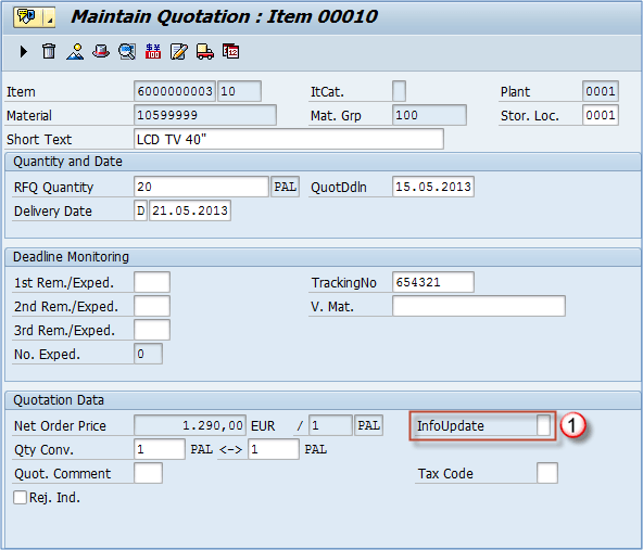 How to Select or Reject a Quotation: SAP ME47