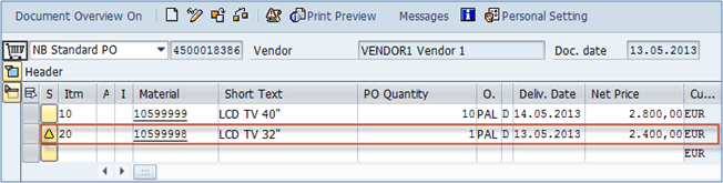 ME22N: How to Change a Purchase Order in SAP