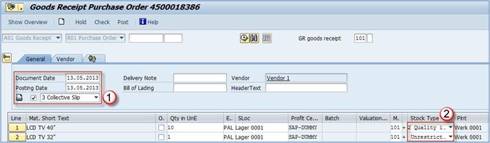 How to Post Goods Receipt: SAP MIGO