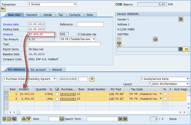 MIRO: How to Perform Invoice Verification in SAP