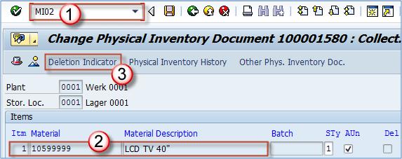 SAP Physical Inventory Tutorial: MI01, MI02, MI04, MI07