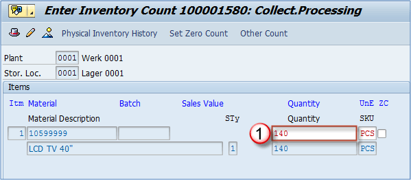 sap physical inventory tutorial mi01 mi02 mi04 mi07