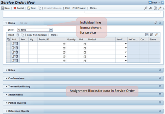 SAP CRM SERVICEPRO: Service Agreements, Contracts, Plans, Order