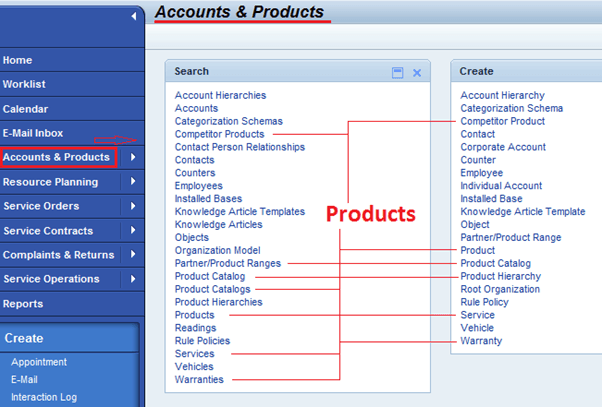 SAP CRM Product Master: Hierarchy, Categories, Set Types & Attributes