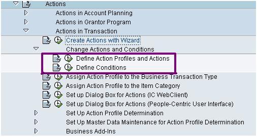 SAP CRM Action Profile: Complete Tutorial