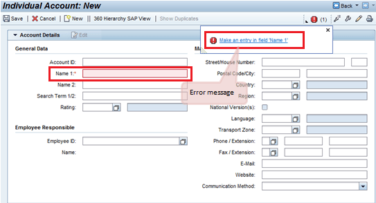 SAP CRM WebUI Tutorial