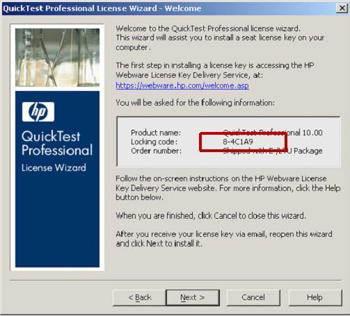 QTP-Lock-Code