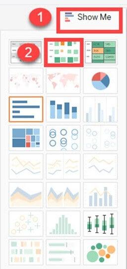 Tableau Charts & Graphs Tutorial