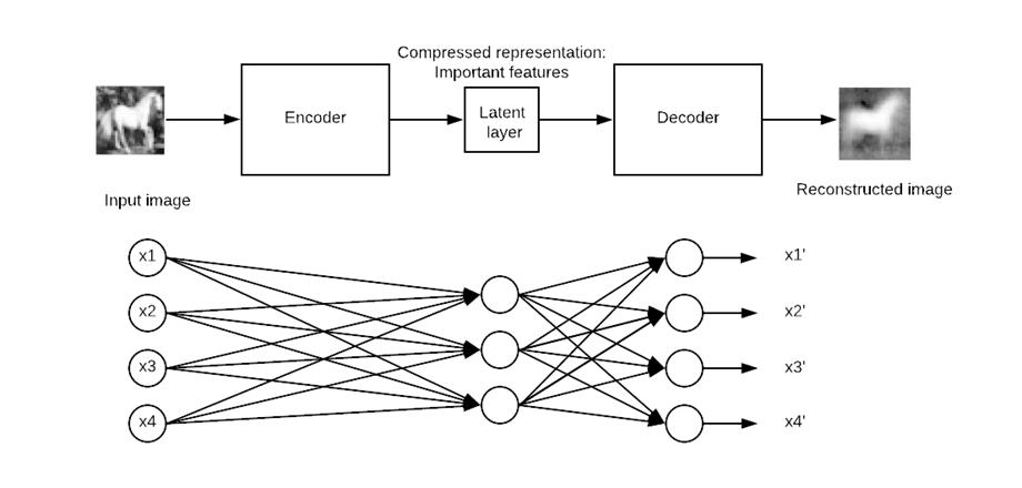Working of Autoencoder