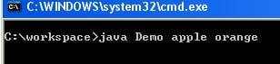 Đối số dòng lệnh Java