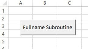 VBA Functions and Subroutine
