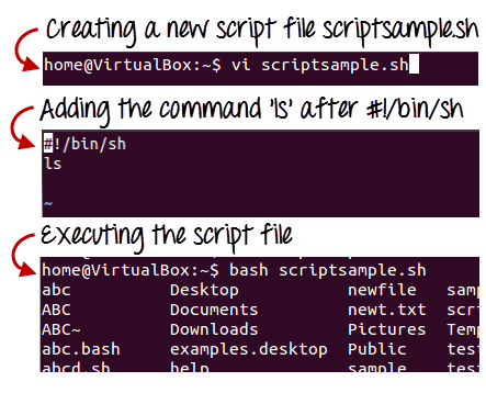 Write a bourne shell script